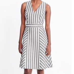 🌷J. Crew Striped Herringbone Work/Office Dress